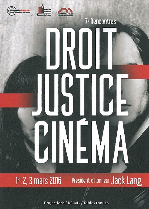 Rencontre droit justice et cinema 2016
